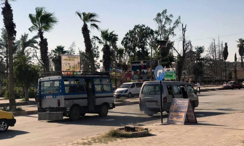 The intersection of al- Rashid Public Park- 29 July 2019 (Photographer Aboud Hamam)