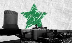The Deir Ali power plant in Damascus countryside (Building Syria website / edited by Enab Baladi)
