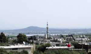 The al-Rafid village in the Quneitra city overlooking the occupied Golan Heights - 10 December 2020 (Enab Baladi / Mohammed Fahad)
